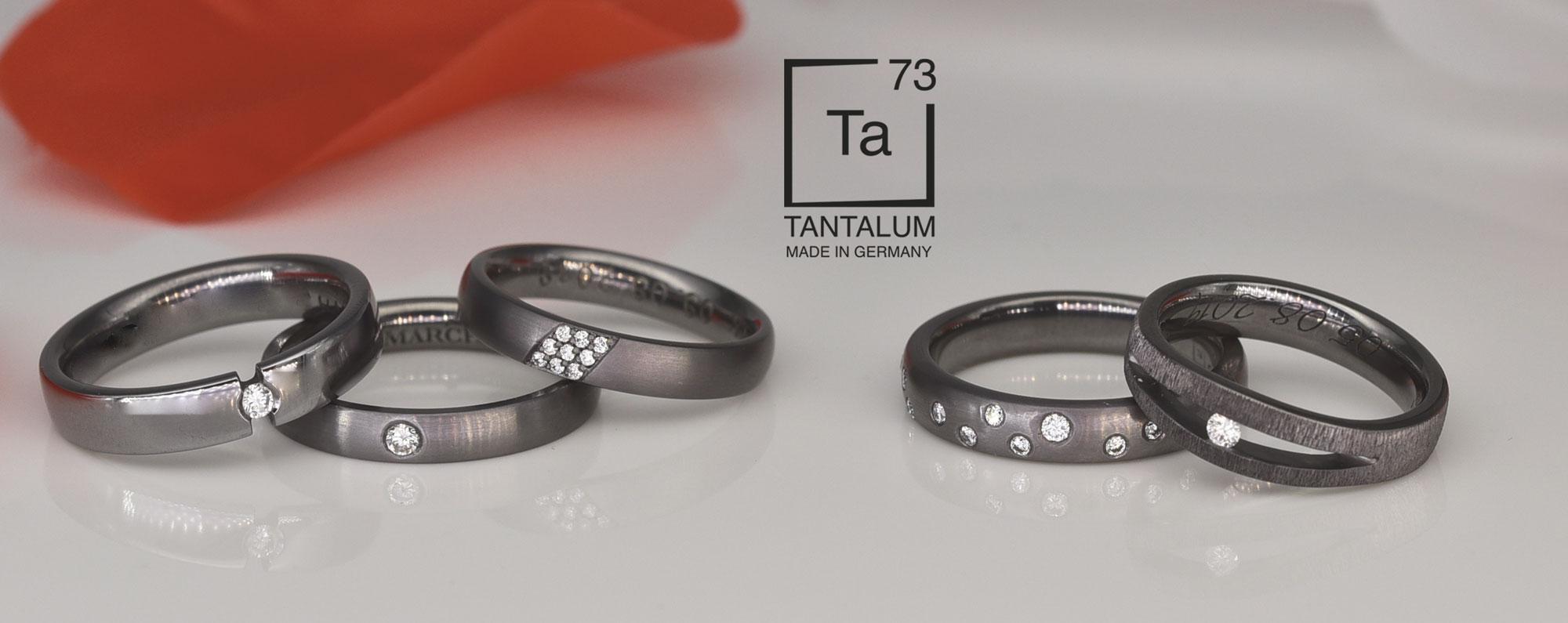 Tantalum Verlobungsringe